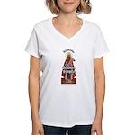 Orthodox Gansta Women's V-Neck T-Shirt