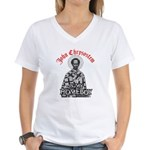 Chrysostem Homeboy Women's V-Neck T-Shirt