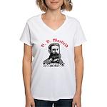Warfield Homeboy Women's V-Neck T-Shirt
