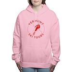 Vermont Ski Tours - Logo Women's Hooded Sweats