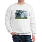 Lilies #1 - Maltese (B) Sweatshirt