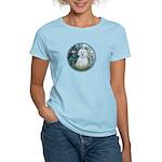 Lilies #1 - Maltese (B) Women's Light T-Shirt