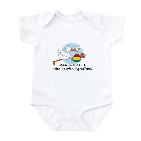 Stork Baby Bolivia USA Infant Bodysuit