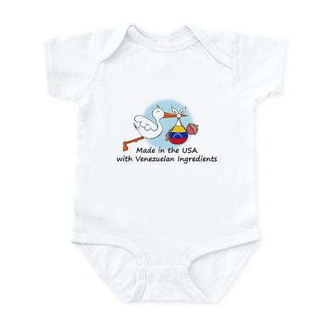 Stork Baby Venezuela USA Infant Bodysuit