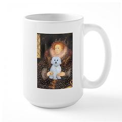 Queen / Maltese (B) Large Mug