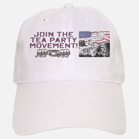 Tea Party Rushmore Baseball Baseball Cap