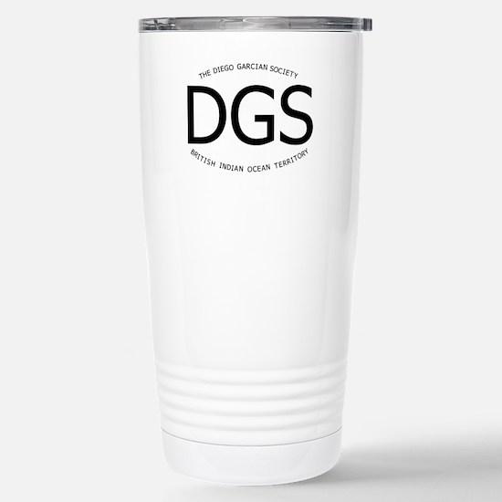 Diego Garcian Society Stainless Steel Travel Mug