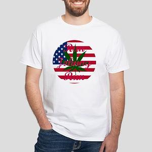 Run Johnny Run! White T-Shirt
