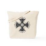 Elegant Iron Cross Tote Bag