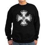 Elegant Iron Cross Sweatshirt (dark)