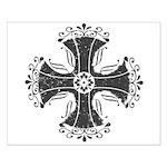 Elegant Iron Cross Small Poster