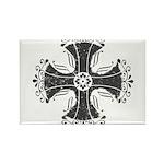 Elegant Iron Cross Rectangle Magnet (10 pack)