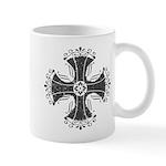 Elegant Iron Cross Mug