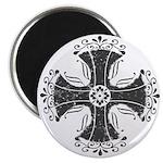 Elegant Iron Cross Magnet