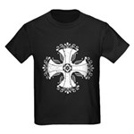 Elegant Iron Cross Kids Dark T-Shirt