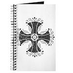 Elegant Iron Cross Journal