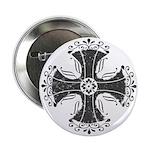 "Elegant Iron Cross 2.25"" Button (100 pack)"