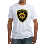 Portola Police Fitted T-Shirt