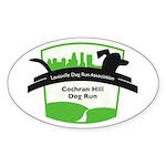 big green cochran logo Sticker