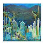 San Diego Nights Tile Coaster