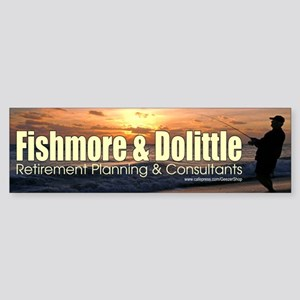 Fishmore & Dolittle Bumper Sticker