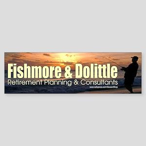 Fishmore & Dolittle Bumper Sticker