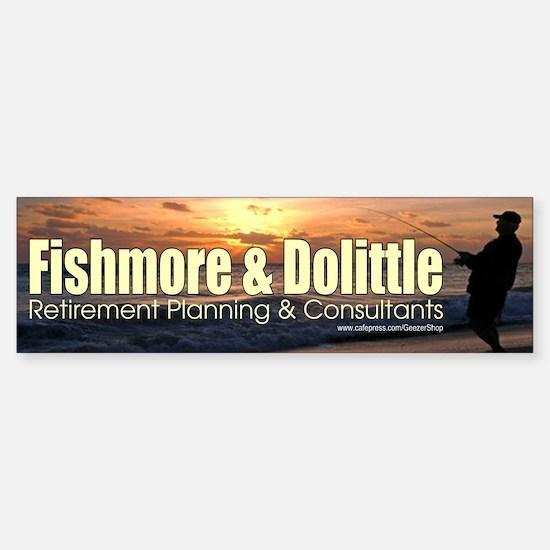 Fishmore & Dolittle Bumper Bumper Bumper Sticker
