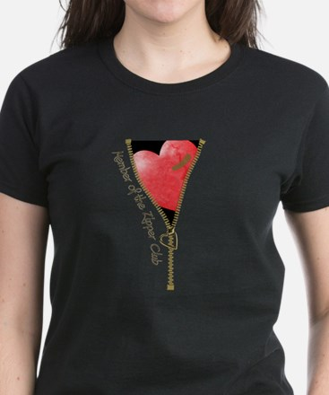 Zipper Design 2 Women's Dark T-Shirt