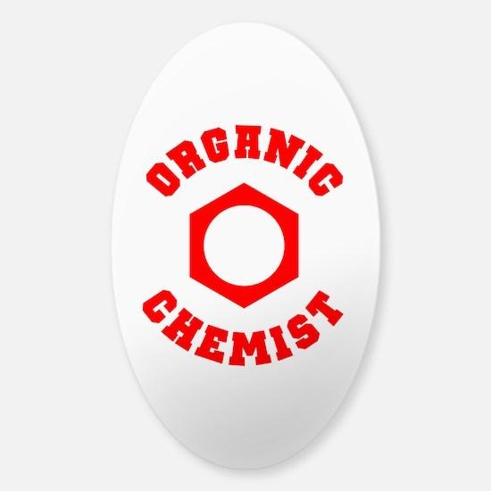 Organic Chemist Sticker (Oval)
