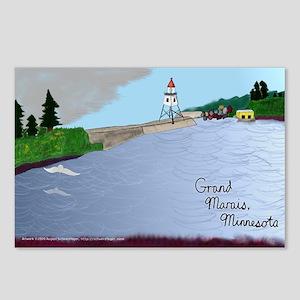 Grand Marais postcard (package of 8)