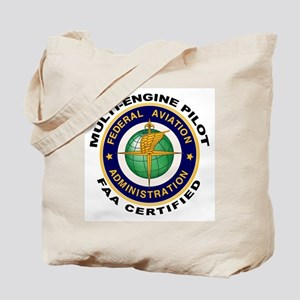 FAA Certified Multi-Engine Pilot Tote Bag