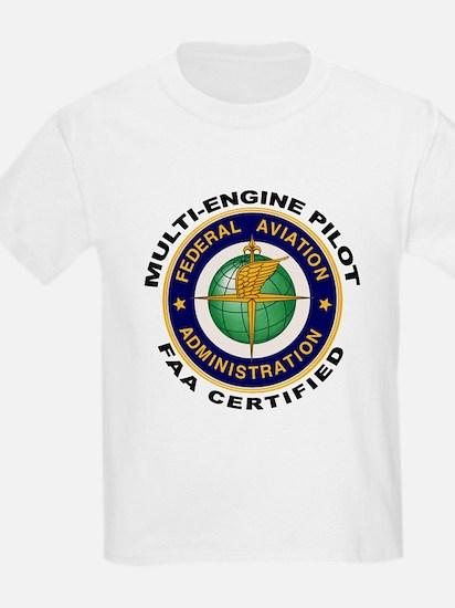 FAA Certified Multi-Engine Pilot T-Shirt