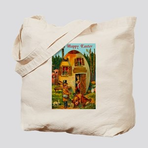 Easter Bunny's Egg House Tote Bag