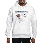 Happy 4th of July Hooded Sweatshirt