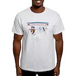 Happy 4th of July Light T-Shirt