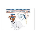Happy 4th of July Postcards (Package of 8)