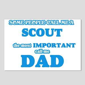 Some call me a Scout, the Postcards (Package of 8)