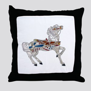 Proud Patriot Throw Pillow