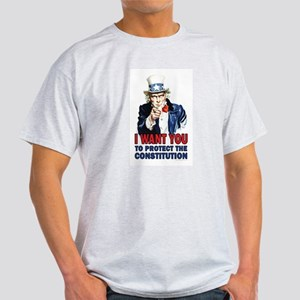 to Protect the Constitution Light T-Shirt