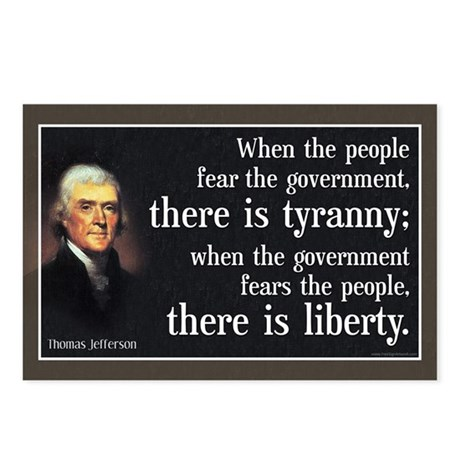 Jefferson: Liberty vs. Tyranny Postcards (Package