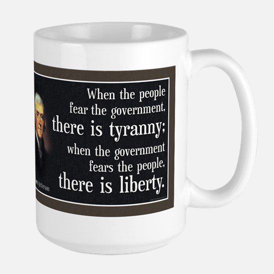 Jefferson: Liberty vs. Tyranny Large Mug