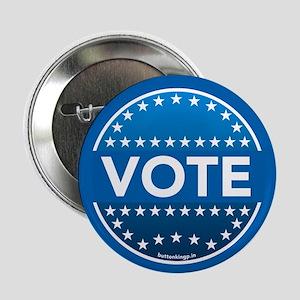 """Vote Blue 2.25"""" Button"""