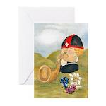 Alphorn Sepp Greeting Cards (Pk of 10)