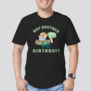 40th birthday cake men s fitted t shirts cafepress