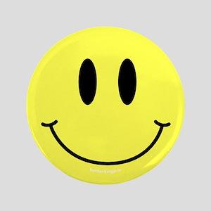 """Smiley 3.5"""" Button"""