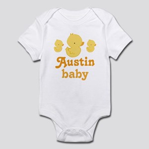 Austin Texas Baby Infant Bodysuit