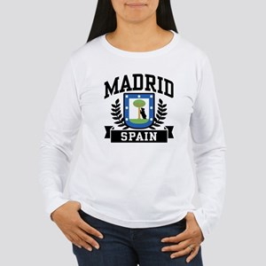 Madrid Spain Women's Long Sleeve T-Shirt