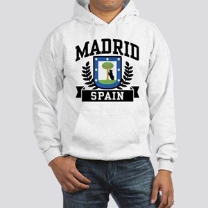 Madrid Spain Hooded Sweatshirt