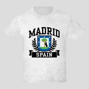 Madrid Spain Kids Light T-Shirt