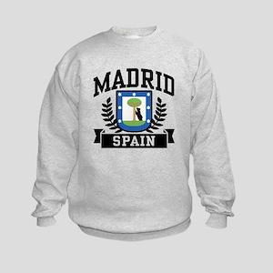 Madrid Spain Kids Sweatshirt